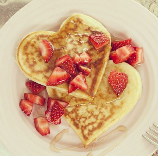 How to Make Perfect Heart-Shaped Pancakes for Valentine's Day