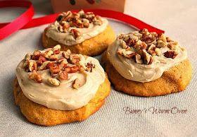 Pumpkin Cookies with Penuche Frosting | Baking | Pinterest | Pumpkin ...