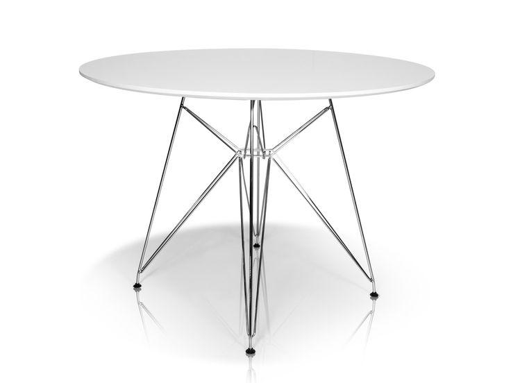 ROLLY Tisch Rund 105 Cm Weiss Jetzt Bestellen Unter