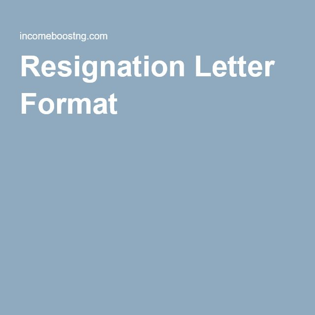 Best 25+ Resignation letter format ideas on Pinterest Letter - board member resignation letter sample