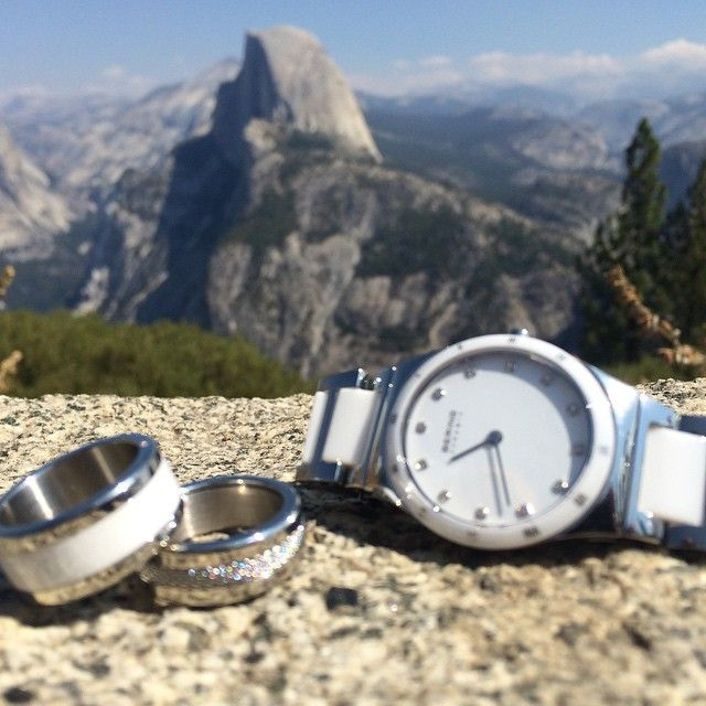 Ain't no mountain too high. It's BERING Time. #BERING #beringtime #watch #rings