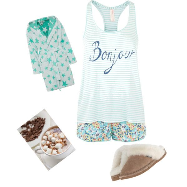 Time to sleep? by alison-jane-gairns on Polyvore featuring polyvore, fashion, style, Accessorize, Calando and Old Friend