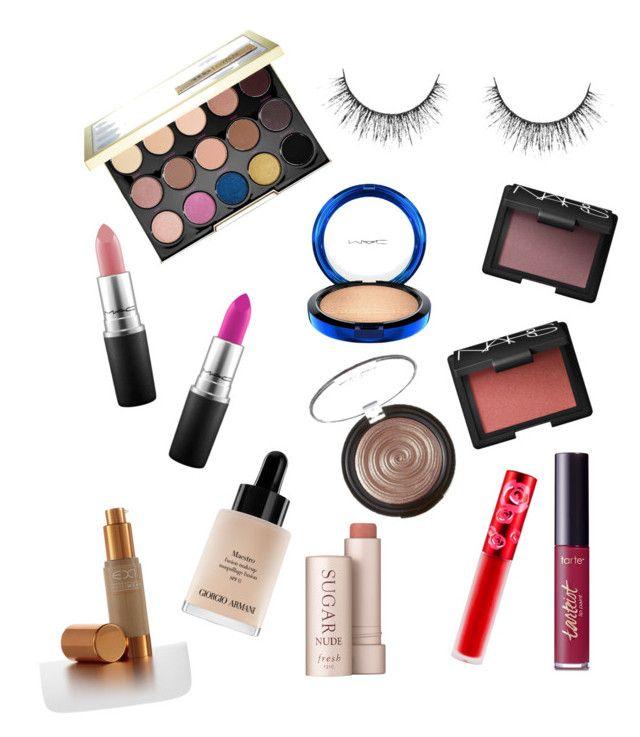 """Makeup Wishlist 2016"" by ladyaahbeauty on Polyvore featuring beauty, Urban Decay, tarte, Fresh, Giorgio Armani, Laura Geller, MAC Cosmetics, NARS Cosmetics and Lime Crime"