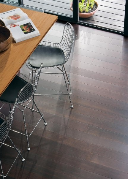 Teragren Portfolio Strand Bamboo Floating Floor In Darby Brown