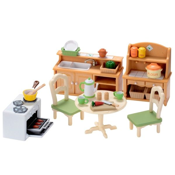 Superb Sylvanian Families Country Kitchen Set Now At Smyths Toys Uk Buy Online Or Collect At Your Local Smyths Store We Sylvanian Families Toys Kitchen Sets