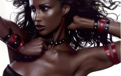 Europe Fashion Men's And Women Wears......: Model Iman's Ageing Advice: Obtain Weighta