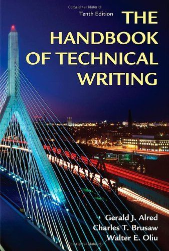 The Handbook of Technical Writing by Gerald J. Alred - PDF free download eBook