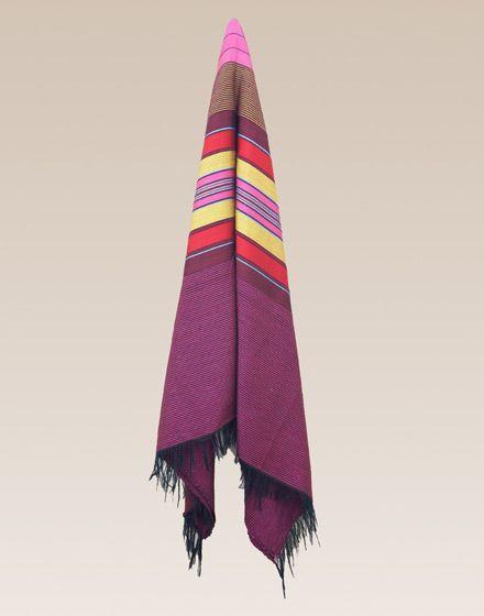 Large Moroccan Multicoloured Throw (200cm x 300cm)  Price: £99.00 - Moroccan Bazaar