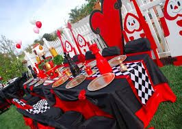Image result for alice in wonderland event decorations