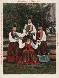 Stroje ludowe – strój kurpiowski z Puszczy Zielonej