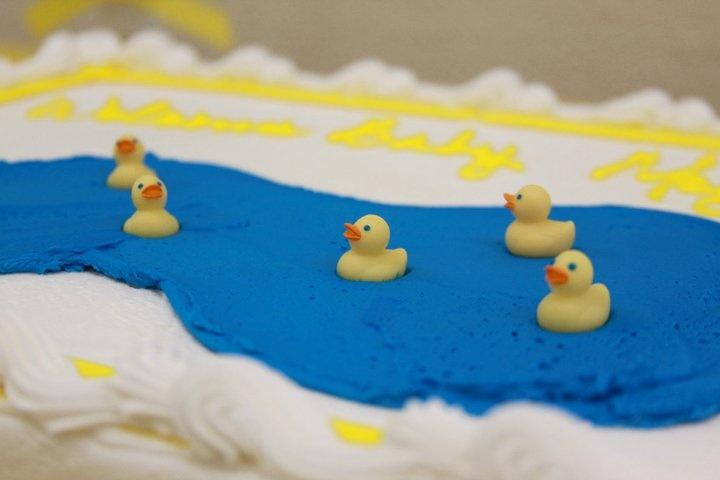 Ducky Cake.