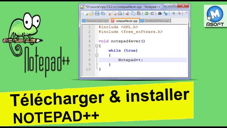 Notepad++ free download in 2020 Note pad, Development