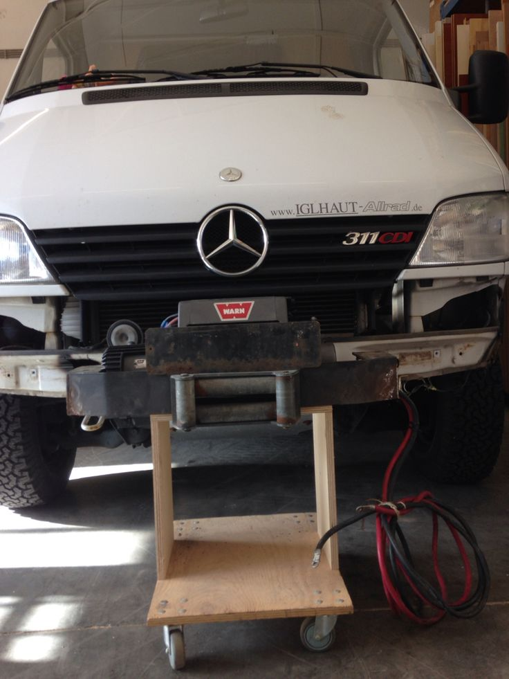 Winch mounting