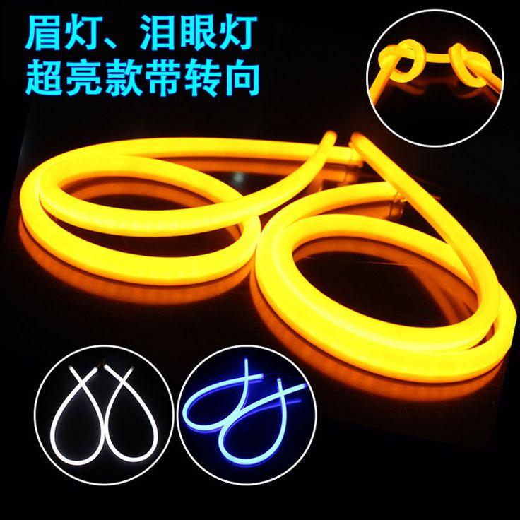 Свет два цвета гибкие светодиодные полосы света шоу широкий dacryops мягкий свет полоса мэй лампы
