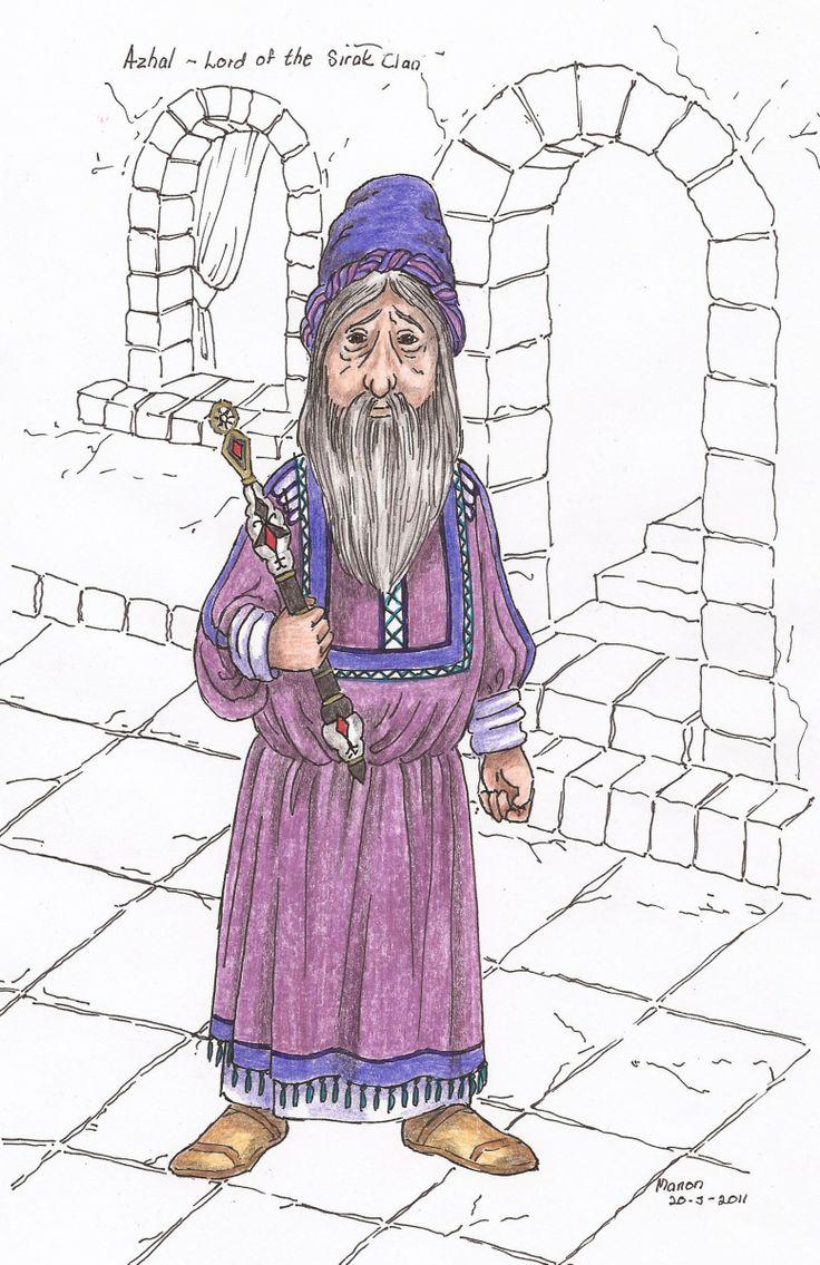 Azhal, from the book, SIRION by Ivano Massari. http://www.gypsyshadow.com/IvanoMassari.html#top