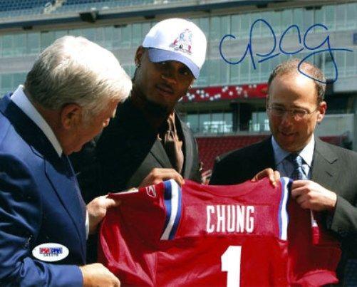 Patrick Chung Autographed 8x10 Photo New England Patriots PSA/DNA Stock