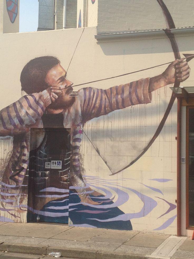 Graffiti. Newtown. NSW