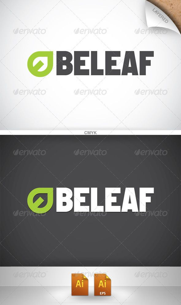 Beleaf Logo - Nature Logo Templates