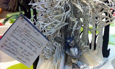 book sculptures were found in the Edinburgh book festival