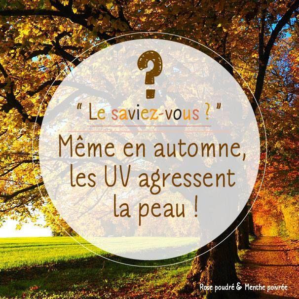 #automne #uv #lesaviezvous #rpmp