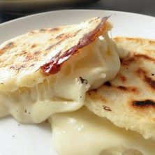 Colombia: Cheese Stuffed Arepas