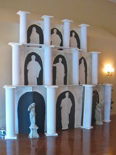 ancient greece party decorations - Google Search