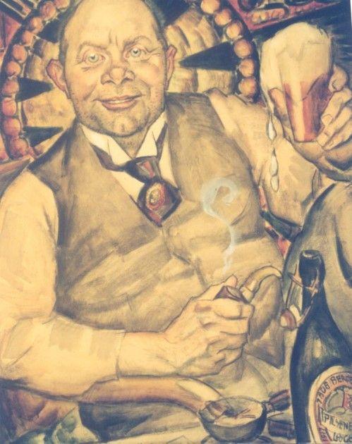 Leendert 'Leo' Gestel (Woerden 1881-1941 Hilversum) Piet Boendermaker - Kunsthandel Simonis en Buunk, Ede (Nederland).