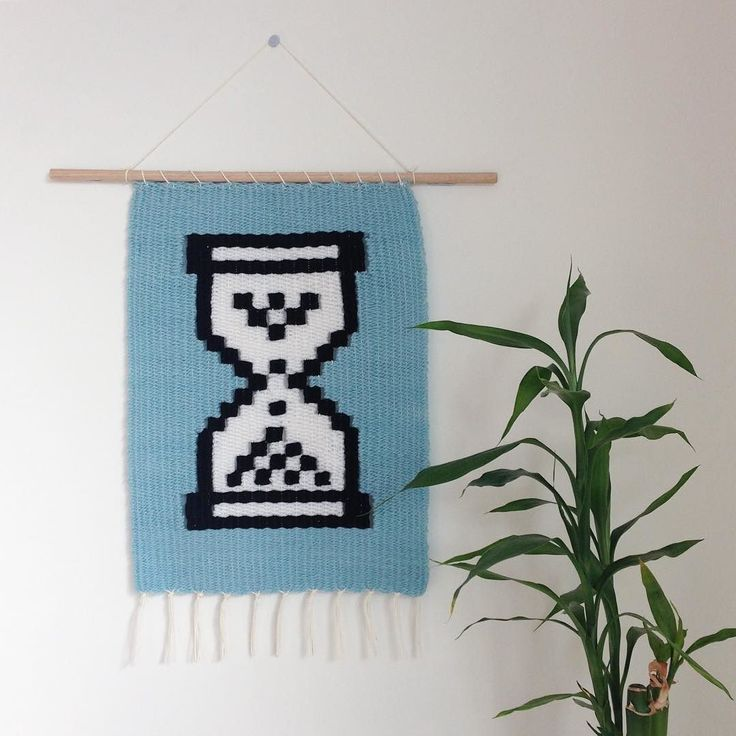 only 90s kids will remember //  // lil cutie for a uni collection I'm working on that may just find its way onto Hangin' Around after the semester  // made from predominantly organic wool as well as recycled wool vintage acrylic and cotton warp. hung from a recycled wooden dowel // . . . . #hanginaround #hanginaroundtextiledesign #weave #rmitbatd #batd #weaving #weaveweird #weaverfever #weavingaustralia #woven #wovenwallhanging #tissage #tapestry #textiles #textiledesign #sustainable…