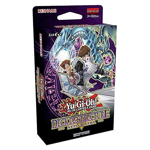 Yu-Gi-Oh! – Jeux de Cartes – Decks de Structure – Seto Kaiba: Choisissez un camp car c'est le moment de vous lancer dans des duels Nouvelle…