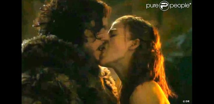 Kit Harington Rose Leslie | Kit Harington (Jon Snow) et Rose Leslie (Ygritte) dans Game of Thrones ...