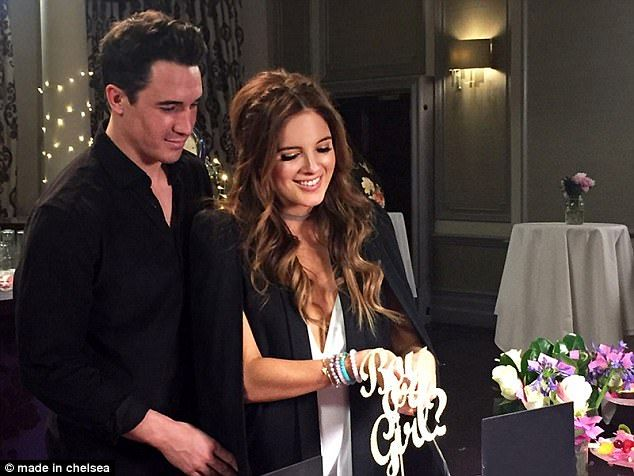 Made In Chelsea parents-to-be Binky and JP having a GIRL | Daily Mail Online
