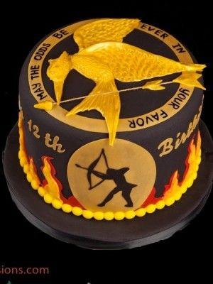 Hunger Games Cakes