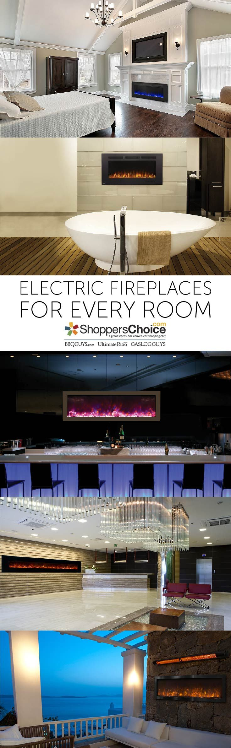 20 best electric fireplaces images on pinterest electric