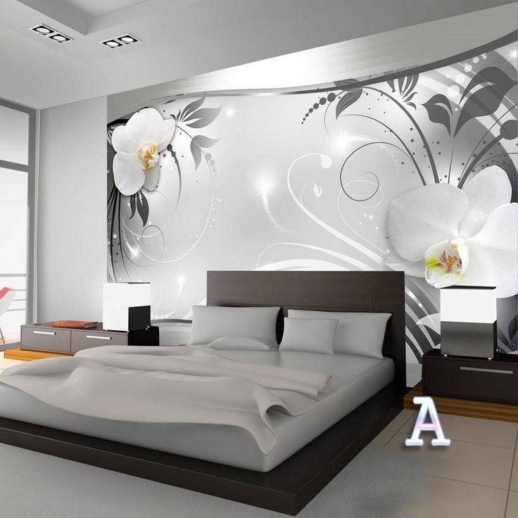 Fototapete Schlafzimmer Blumen – Zuhause Image Idee
