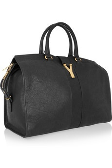 yves saint laurent black clutch - YVES SAINT LAURENT Cabas Chyc Large leather tote | I ? L I K E ...