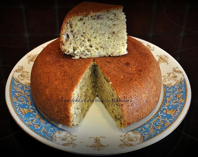 Rice Cooker Cake #4 - Steamed Moist Banana Cake (again) !!!
