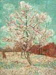 Pesco in fiore. La natura è stata uno dei soggetti più amati dall'artista che ritrae spesso fiori e alberi.