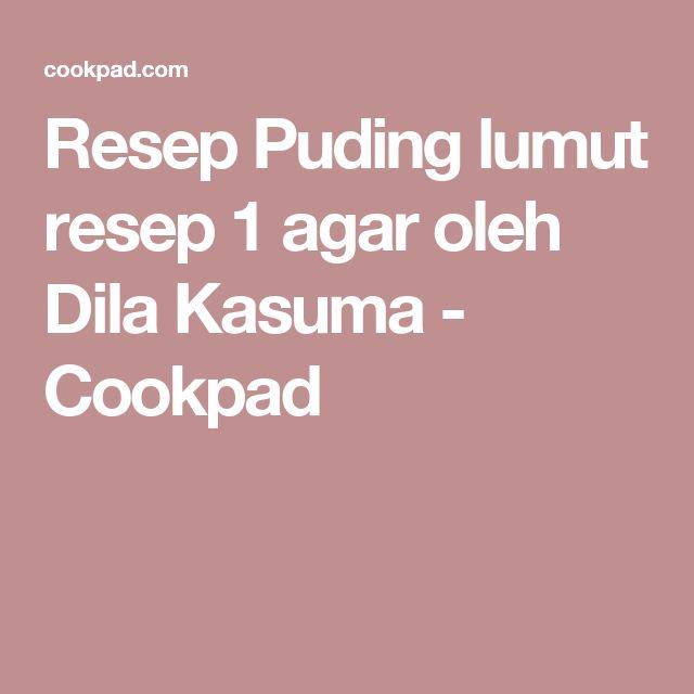 Resep Puding lumut resep 1 agar oleh Dila Kasuma - Cookpad