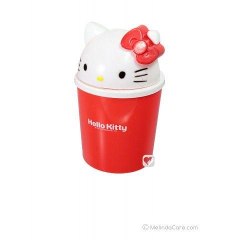 Tempat Sampah Unik Sanrio Karakter Hello Kitty (Putih-Merah) Rp. 22.000  kunjungi: www.melindacare.com hubungi: 081321148408 atau 765BEE5E