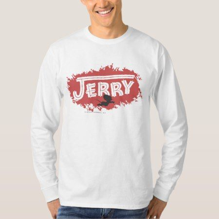 Jerry Silhouette Logo T-Shirt - tap to personalize and get yours