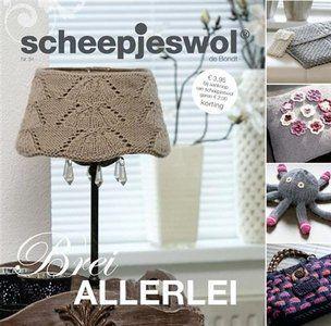 Scheepjes Breiboek nr. 54 Brei Allerlei staat vol met leuke winterse woonaccessoires en damesaccessoires.