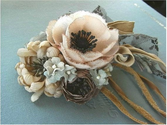 corsage -  hand dyed