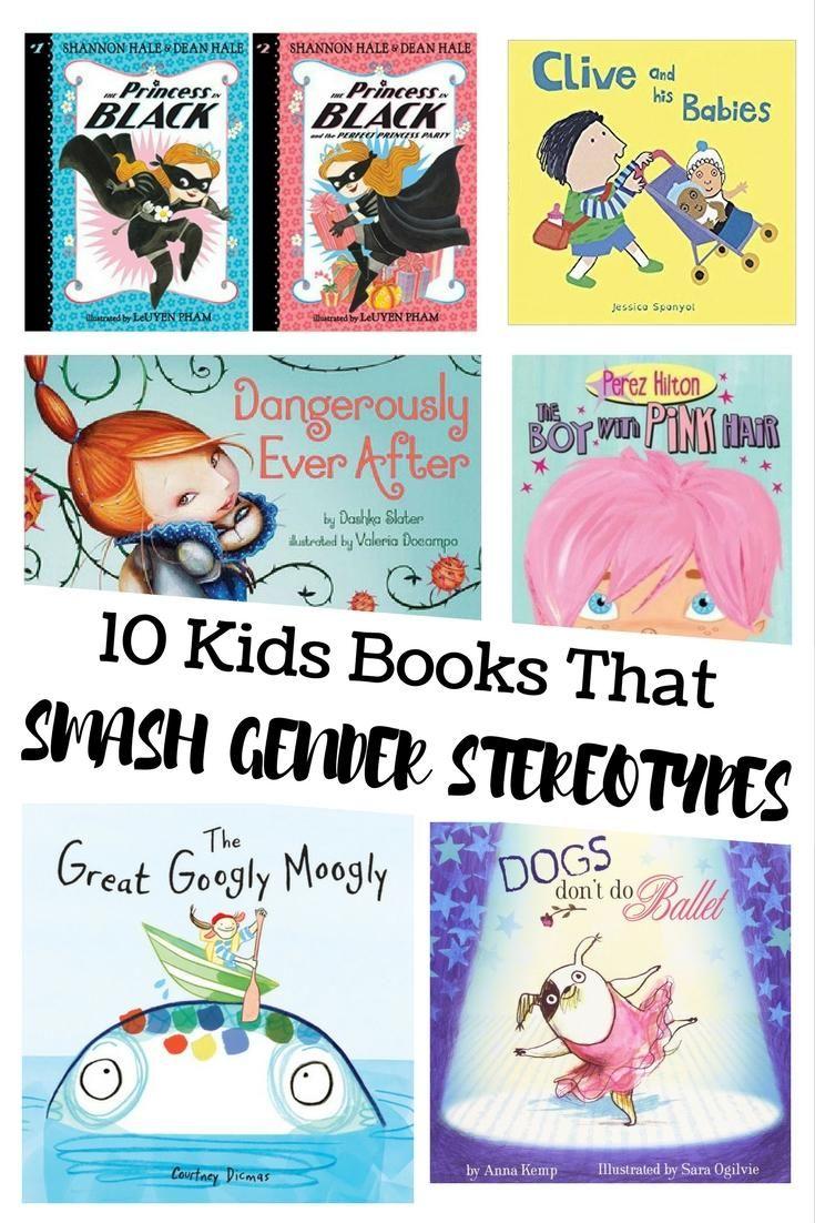 10 Kids' Books That Smash Gender Stereotypes #readyourworld