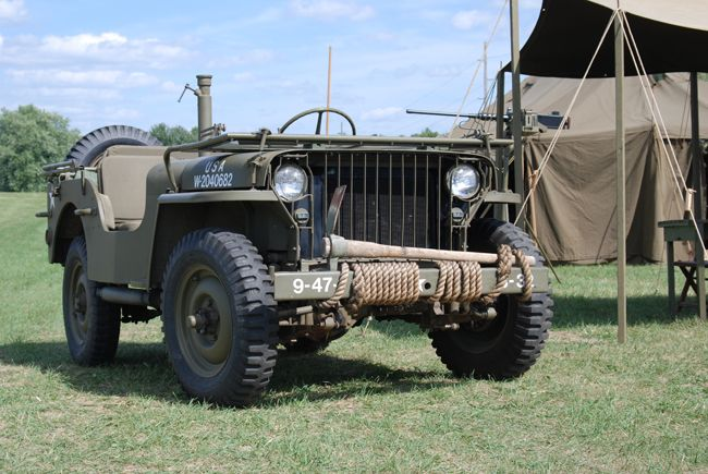 MV Spotlight: Ford GPW and Willys MB 1/4-ton Truck via Military Trader!