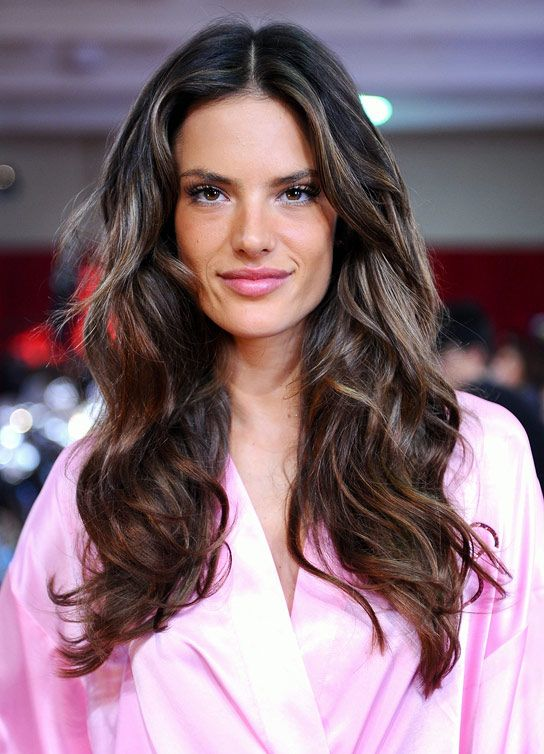 great messy victorias secret show hair - my fave!