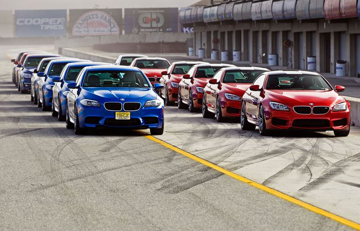 2013 BMW M5 vs. 2013 BMW M6 Coupe at the Track