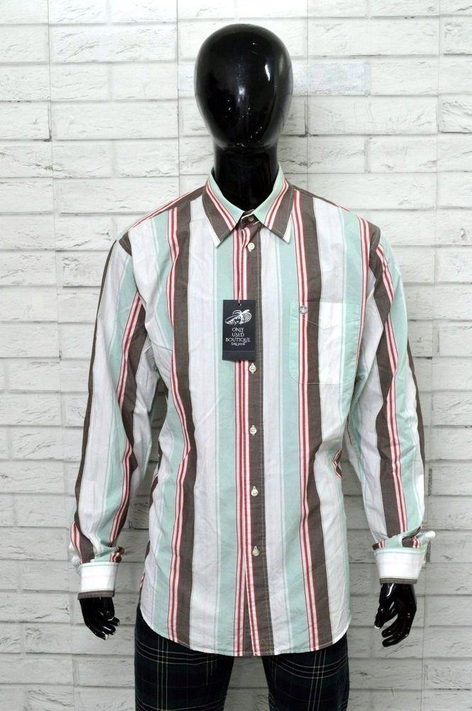 competitive price e6186 849d6 Camicia MURPHY & NYE Uomo Taglia Forte Size XXL Shirt Man ...