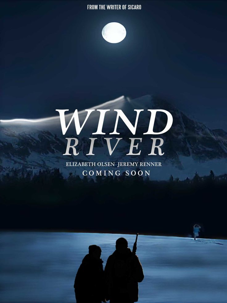 Wind River movie fan made poster #WindRiverMovie