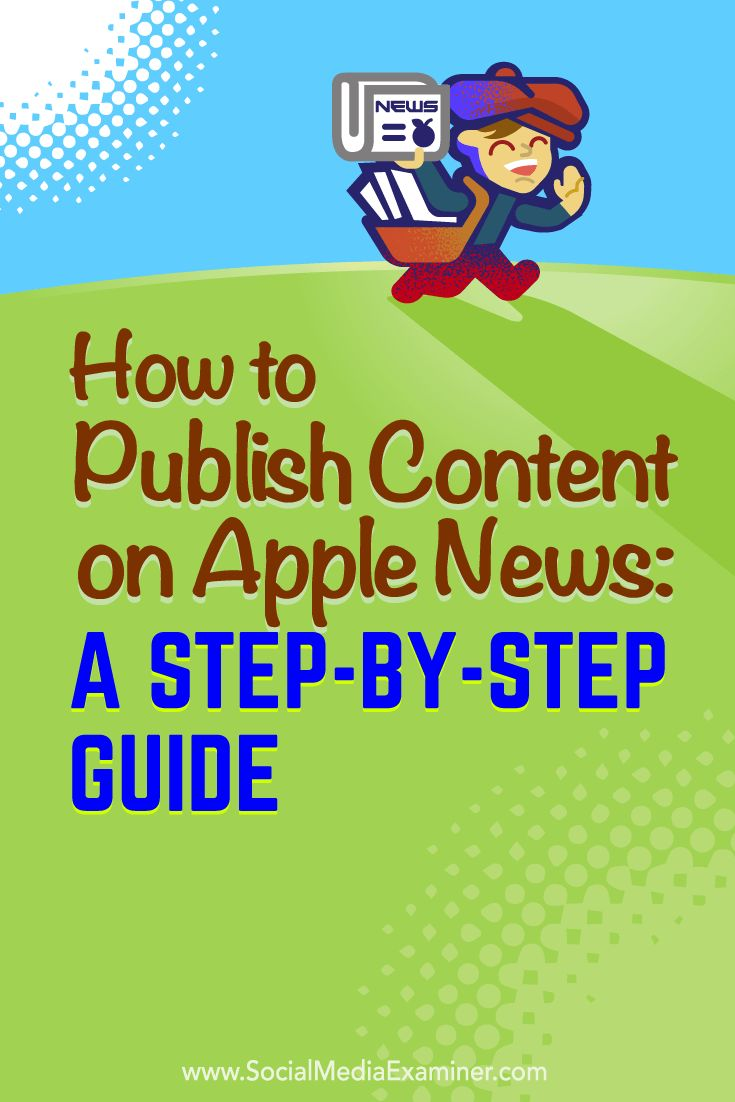 Have you considered publishing your content on Apple News?  Apple News lets you deliver both visual and text-based content directly to a growing number of iOS mobile devices.  In this article, you'll discover how to become an Apple News publisher. Via @smexaminer.