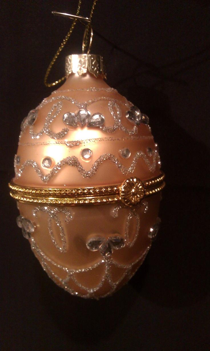 Faberge Egg Ornament